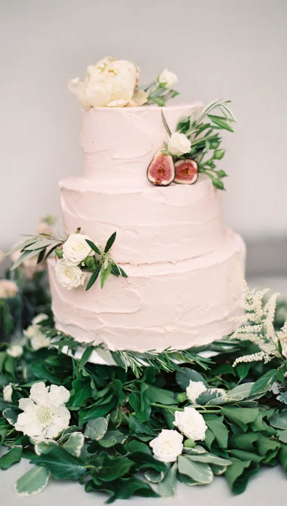 wedding cake, garden wedding cake, wedding cake ideas, simple wedding cake