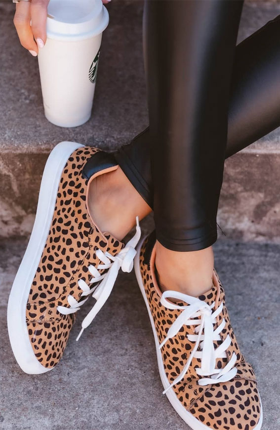 animal printed sneakers ideas, sneakers outfit ideas for ladies, outfits with sneakers for ladies, sneaker trends 2021, nike sneakers, white sneakers, sneakers for girls, sneakers outfits 2021, sneaker trends 2021, sneaker trends 2020 women's, trainer trends 2021, best sneakers 2021, trending sneakers, sneakers style