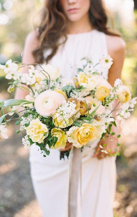 wedding bouquet, yellow wedding bouquet, yellow bouquet ideas, yellow bridal bouquet , wedding bouquet ideas 2021