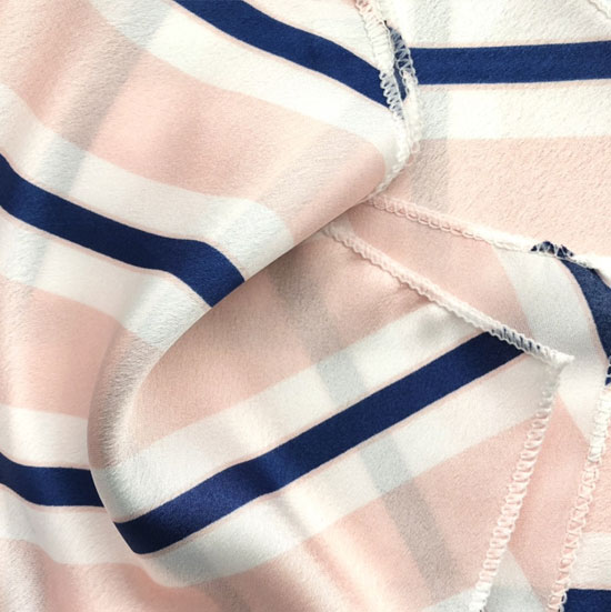 navy blue and pink striped scarf, hair scarf , hair scarves, pink scarf, pink and navy blue silk scarf