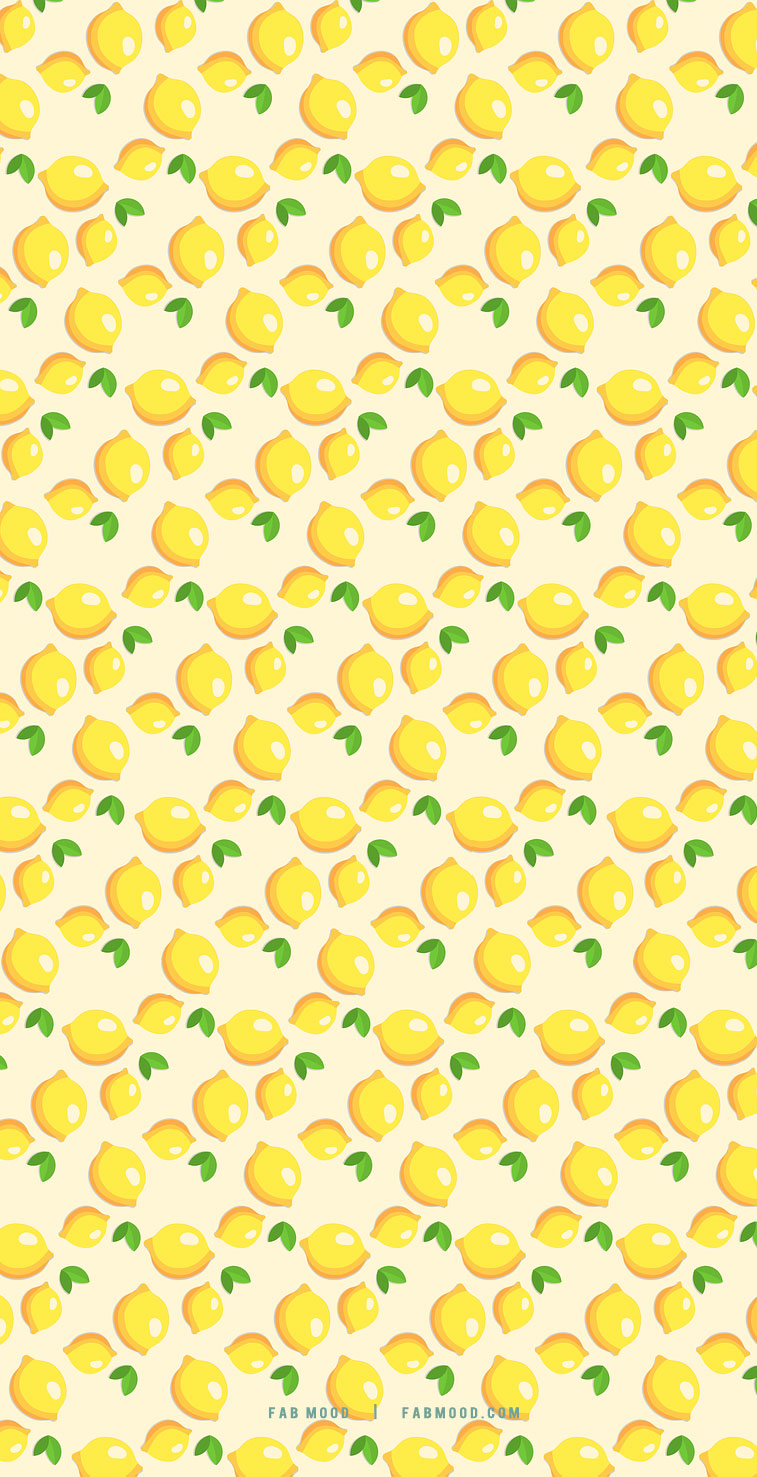 Lemon wallpaper for iphone : Aesthetic Spring & Summer Wallpaper