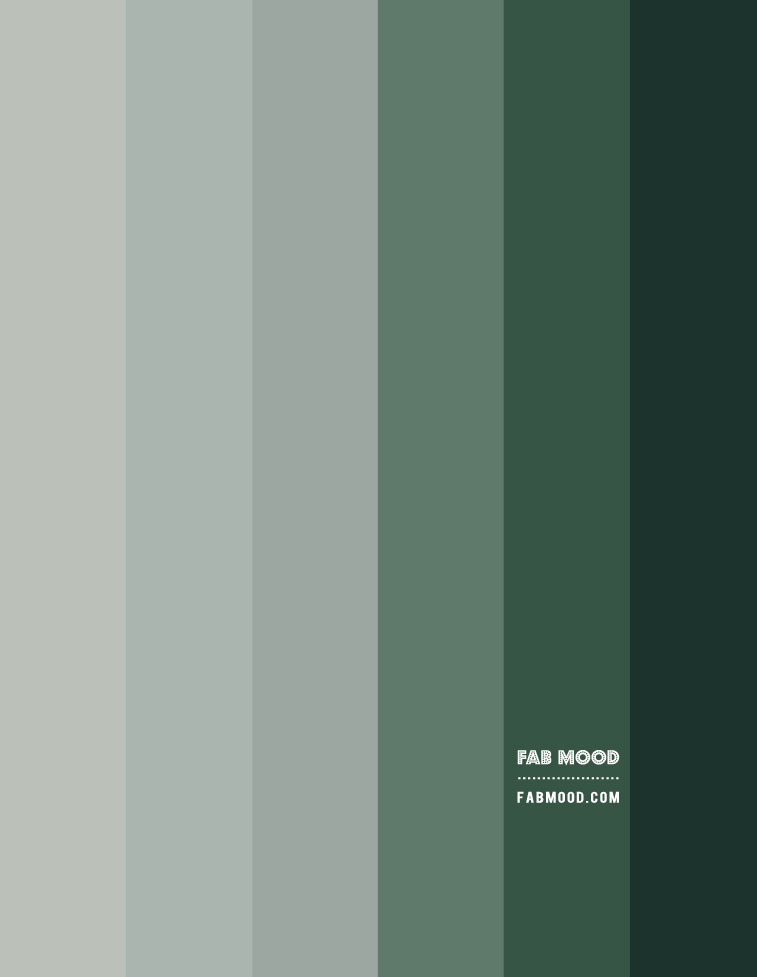 shades of green, shades of green color palette, green color gradient, ombre green gradient green color paletts, gradient greens