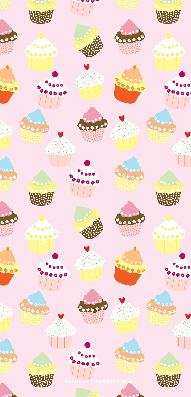 Cute cupcake wallpaper designs for phone