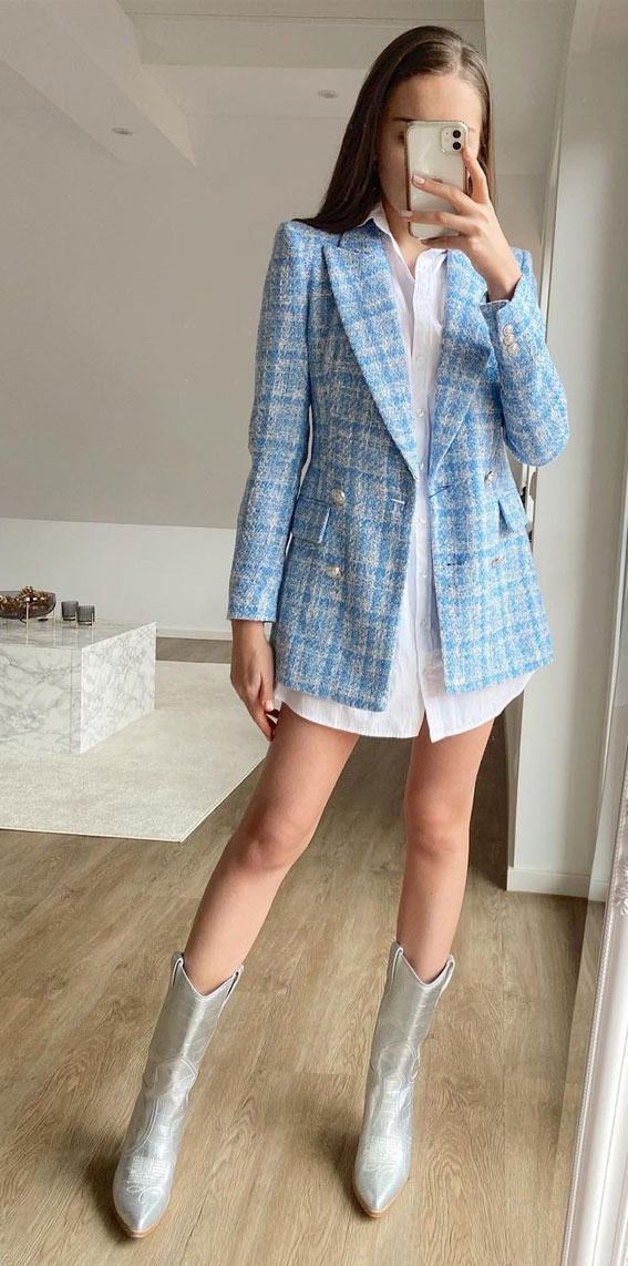 10 Ways to Wear a Blazer – Best Blazer Outfits Ideas