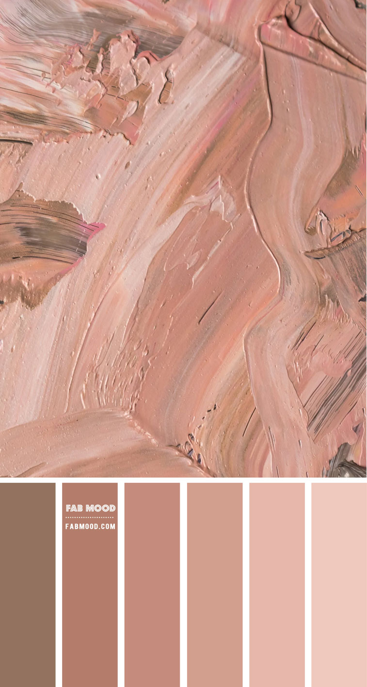 Brown neutral colour scheme – Colour Palette 136