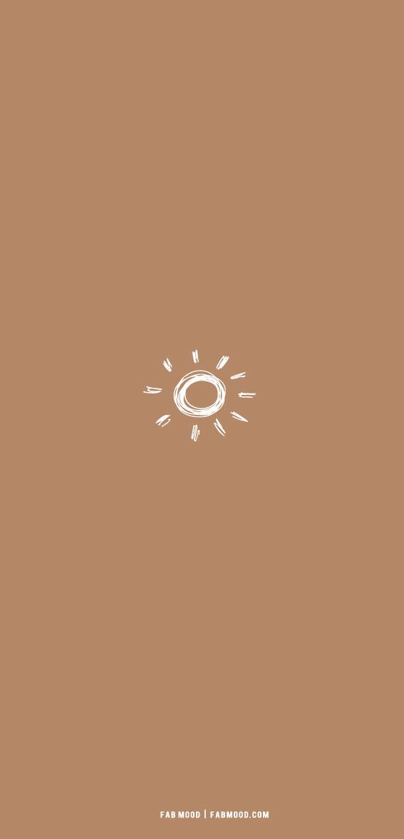 7 Aesthetic Brown Wallpaper : Minimal Aesthetic Brown Wallpaper