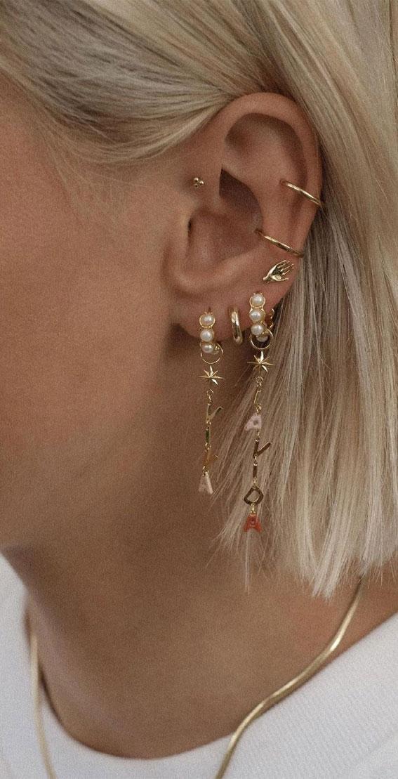 Bobo Hoop Stack : Best Curated Ear Piercing trend 2021