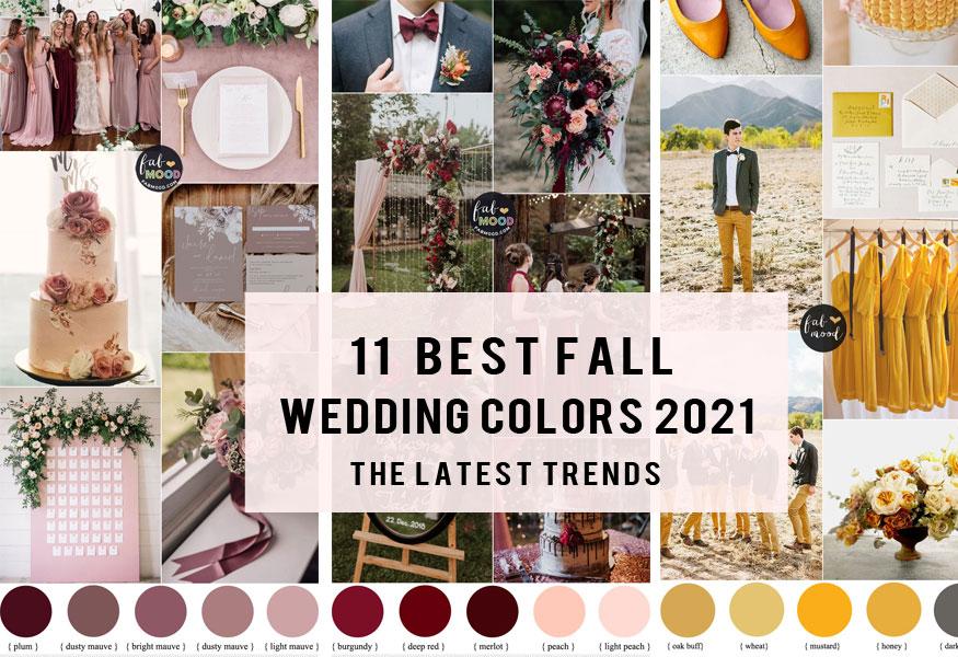 wedding colour trends 2021, fall wedding color ideas 2021, boho wedding colors 2021, wedding color trends 2022