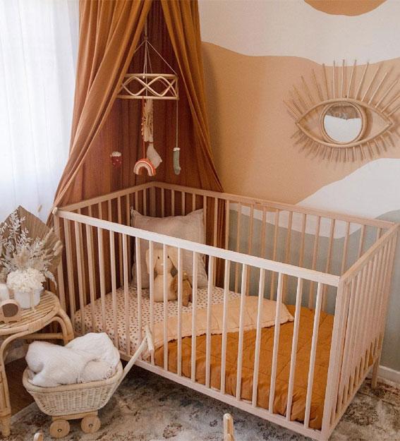 nursery ideas neutral, baby nursery ideas pictures, nursery wall ideas, baby room decoration items #nurseryideas baby nursery decor, baby room ideas girl, nursery themes, baby nursery ideas for small rooms