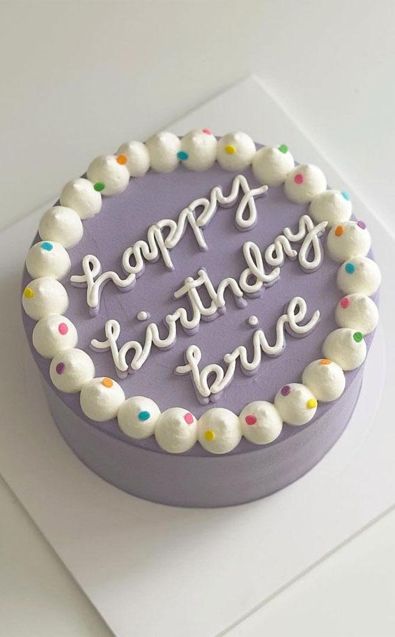 lavender color cake, minimalist cake, minimalist birthday cake, how to make a simple birthday cake, simple birthday cake , chocolate birthday cakes, classic birthday cake, homemade birthday cake , chocolate birthday cake, small birthday cake , simple birthday cake images
