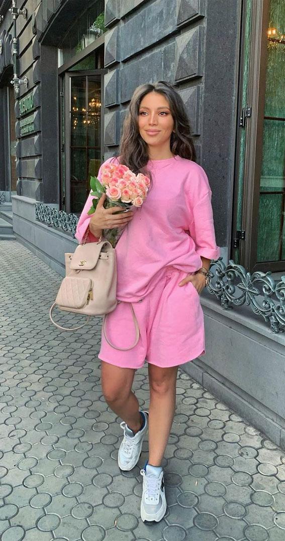 jednobojna haljina, jednobojna ružičasta odjeća, jednobojna odjeća 2021, jednobojna odjeća