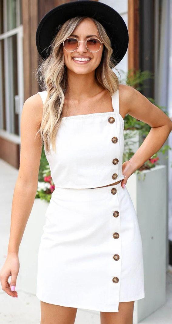 bijela haljina, ljetna bijela haljina, ljetna moda 2021, ljetna odjeća, ideje za ljetnu odjeću, ideje za bijelu haljinu