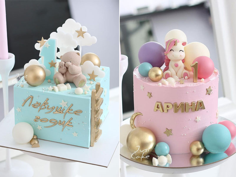 12 Baby first birthday cake ideas that are so adorable