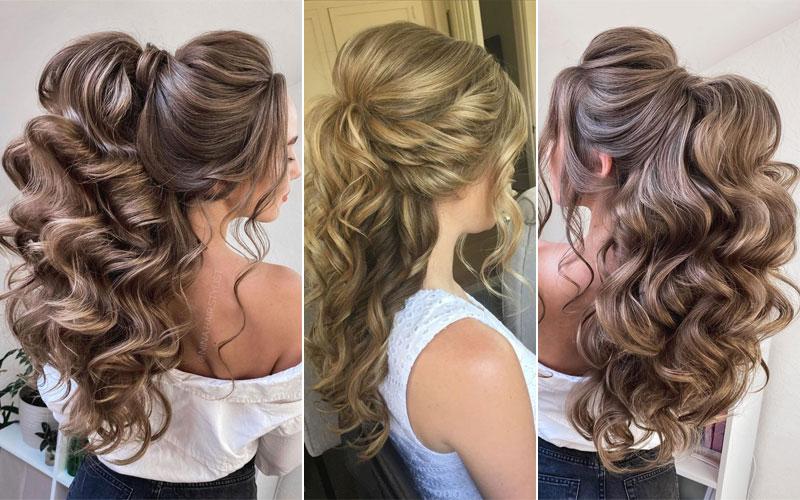 12 Best Half Up Half Down Hairstyles 2021