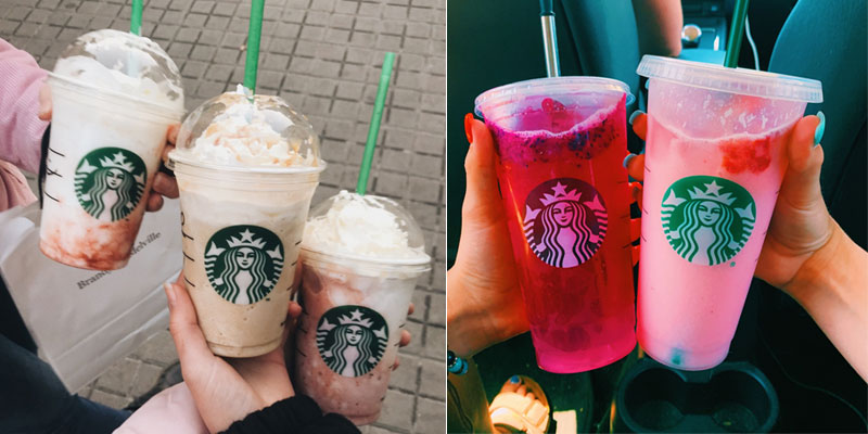 10 Starbucks Aesthetic Drinks That'll Make You Want To Try