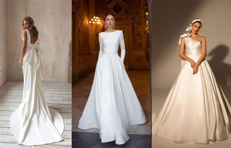 10 Beautiful & Classic Wedding Dresses 2021
