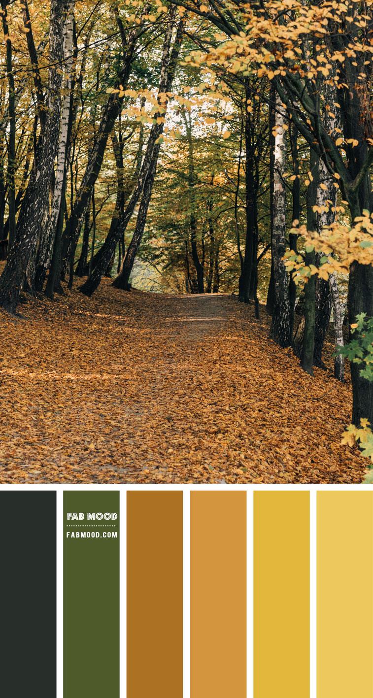 Brown and Mustard Colour Scheme – Colour Palette 145