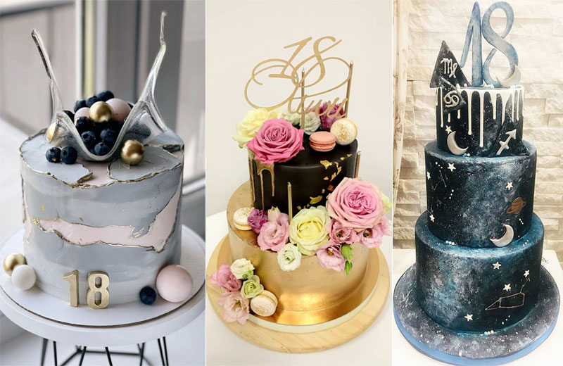 14 Fabulous 18th Birthday Cake Ideas