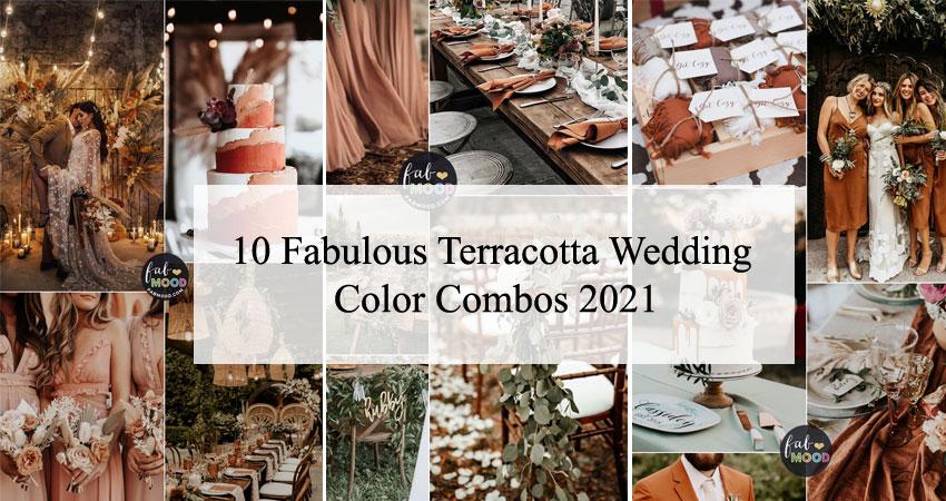 10 Fabulous Terracotta Wedding Color Combos