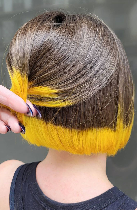 two tone hair color ideas for brunettes, Two tone hair color ideas for Brown Hair, two tone hair blonde and brown, two tone hair color for short hair, two tone hair color top and bottom, two tone hair color dark on top light on bottom, two toned hair photo gallery, two tone hair highlights, two tone hair color underneath