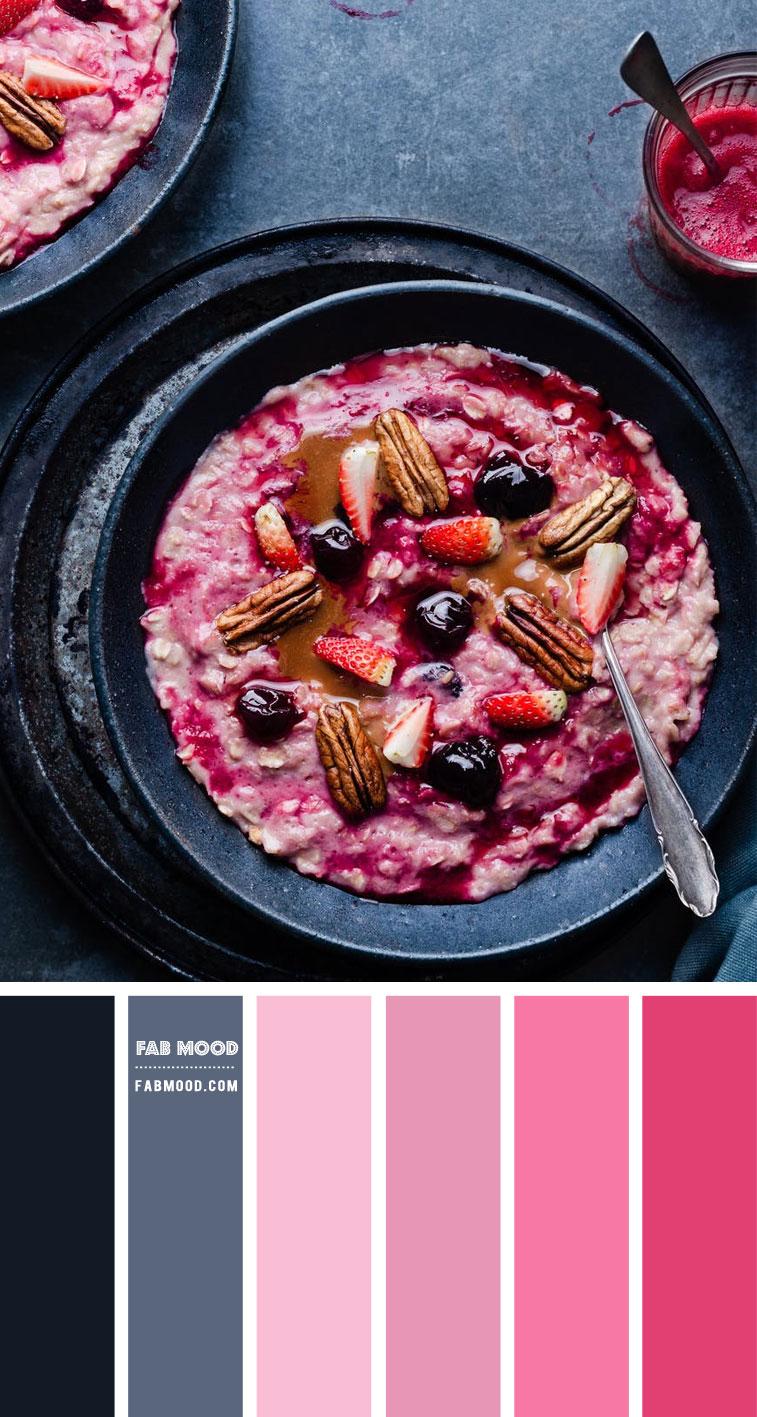 Blueberry, Blue grey and Berry Colour Scheme – Colour Palette 146