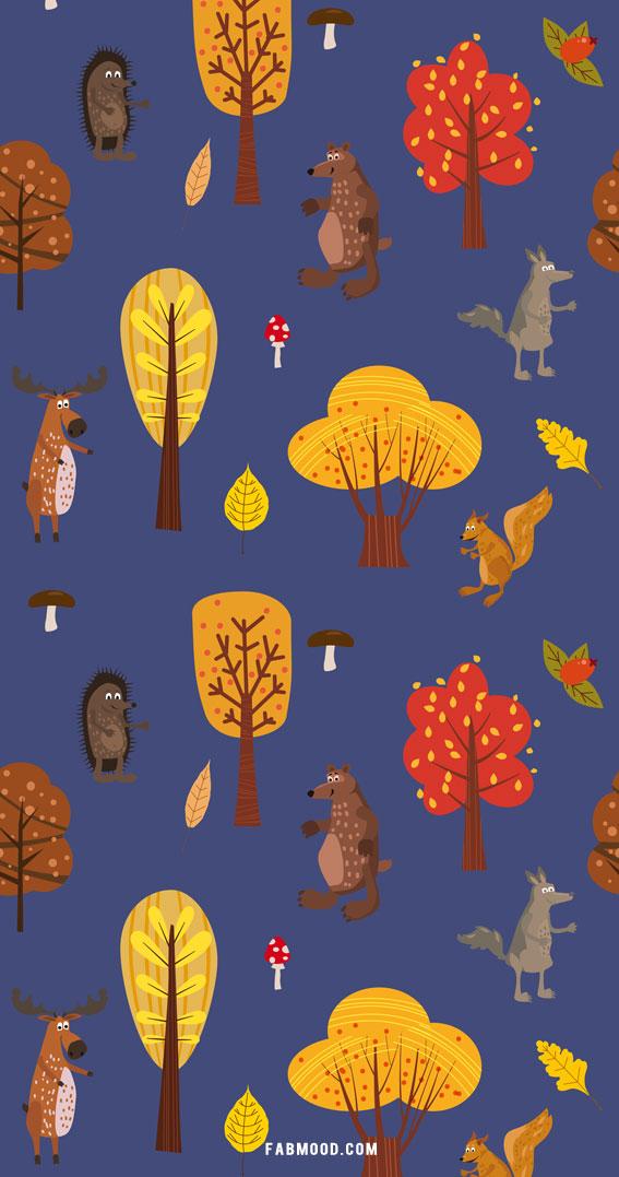 hello autumn, autumn wallpaper, fall wallpapers, hello autumn screensaver images